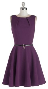Modcloth short dress Purple Bridesmaid A-line on Tradesy