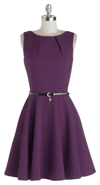 Preload https://item5.tradesy.com/images/modcloth-purple-luck-be-a-lady-knee-length-short-casual-dress-size-6-s-6017494-0-0.jpg?width=400&height=650