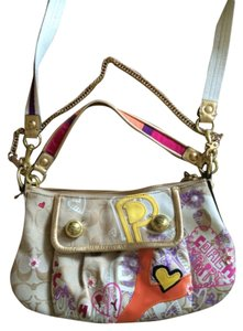 Coach Satchel in Multicolored