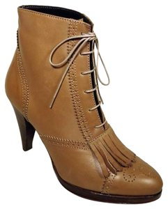 J.Crew Platform Leather Fall Tassels Taupe Boots