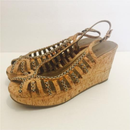 Vaneli Tan Wedges