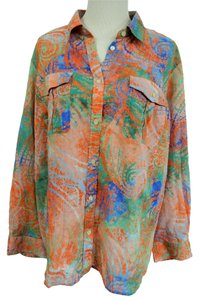 Lauren Ralph Lauren Button Down Shirt Multi