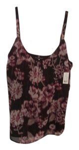 New York & Company Nwt Top Flower Print