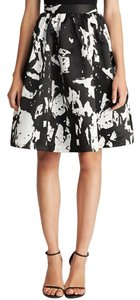 Lucy Paris Full A-line Midi Bloom Skirt Floral