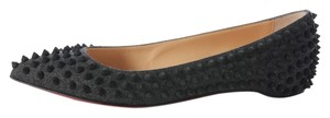 Christian Louboutin Flannel Pigalle Lb.j0701.16 Flats