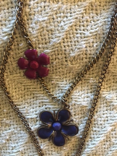 Icing Icing's Multi-colored Flower Necklace