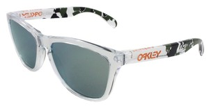Oakley Oakley Crystal/Gold Lens 24-436 Sunglasses