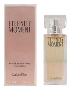 Calvin Klein ETERNITY MOMENT 1 Oz Eau de Parfum Spray for Women By Calvin Klein