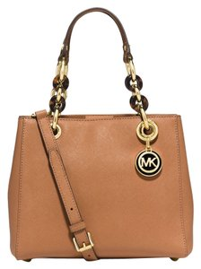Michael Kors Next Day Shipping Satchel in Peanut