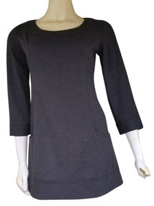 Max Studio short dress Gray Jersey Mini on Tradesy