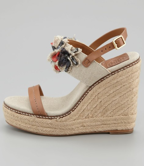 Tory Burch Natural Wedges