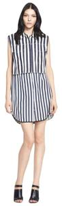 3.1 Phillip Lim short dress Navy & Ivory Striped Bold Stripe Twin-set Vest Sleeveless on Tradesy