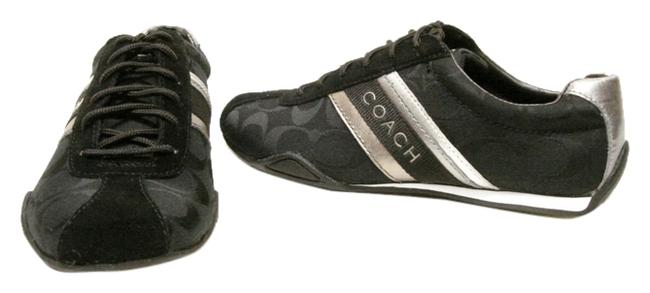 Item - Black and Silver Jayme Sneakers Size US 11 Regular (M, B)