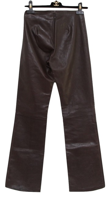 Chrome Hearts Boot Cut Pants Brown