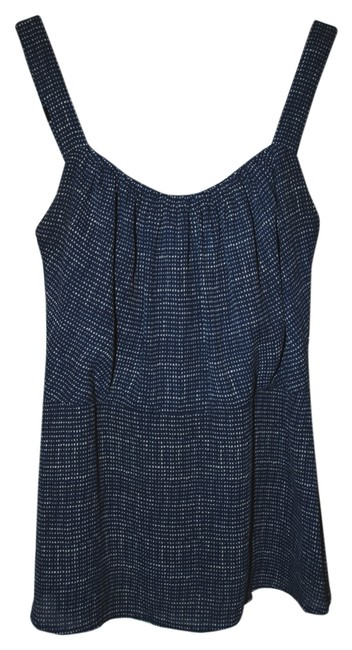 CAbi Camisole Textured Spring Top Blue