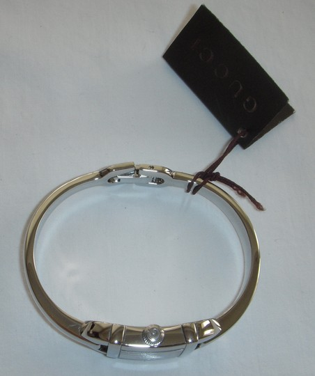 Gucci Gucci 6800R Mauve Pink Stainless Steel Sz. Small Bangle Bracelet Watch
