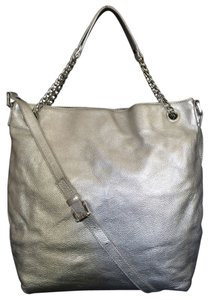 MICHAEL Michael Kors Jet Set Chain Metallic Leather Shoulder Bag