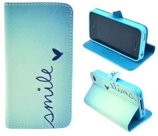 Preload https://item2.tradesy.com/images/blue-smile-iphone-4s-wallet-phone-case-with-magnetic-closure-tech-accessory-6020581-0-0.jpg?width=440&height=440