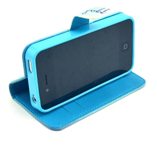 Other Smile iPhone 4S Wallet Phone Case with Magnetic Closure