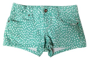 SO Mini/Short Shorts Seafoam green / White
