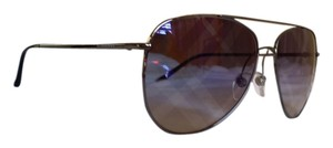 Burberry New BURBERRY BE3072-1003/B2 Gunmetal / Clear Grad Blue Mirror Violet Sunglasses