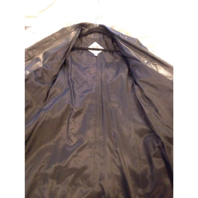 The Original Leather Line Blac Leather Jacket