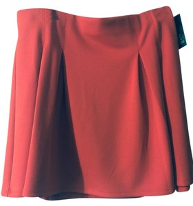 INC International Concepts Mini Skirt Loving Red