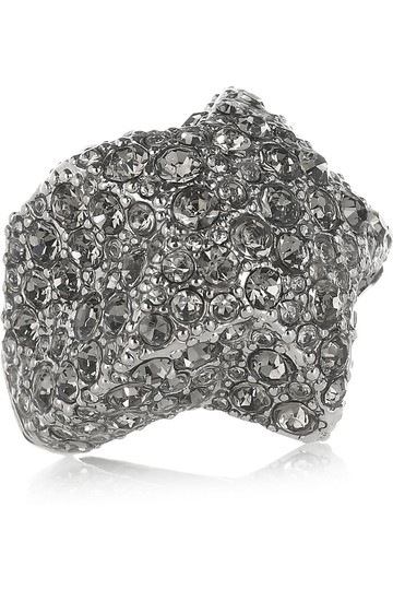 Marc by Marc Jacobs NEW Marc by Marc Jacobs Silver Star Pave Czech Crystal Ring