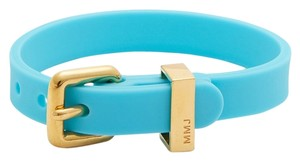Marc by Marc Jacobs NEW Marc by Marc Jacobs Blue Bandz Rubber Buckle Bracelet