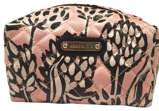 Preload https://item1.tradesy.com/images/anne-klein-pink-black-and-white-cosmetic-bag-6021475-0-0.jpg?width=440&height=440