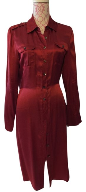 Preload https://item4.tradesy.com/images/talbots-red-copper-silk-sexy-mid-length-short-casual-dress-size-10-m-6021628-0-0.jpg?width=400&height=650