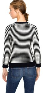 J.Crew Cotton Knit Boyfriend V Neck L Sweater