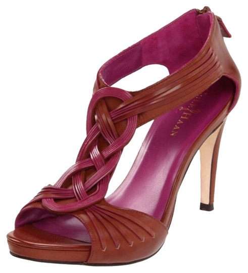 Cole Haan Brown and Purple Sandals