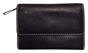 Pelle Studio Black Leather Wallet