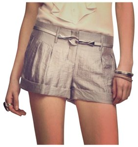 Express Mini/Short Shorts Silver metalic