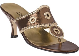 Jack Rogers Metallic Metallic/Bronze/Gold Sandals