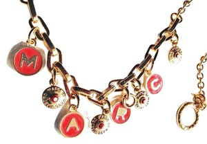 Marc by Marc Jacobs NEW Marc by Marc Jacobs Classic Multi Charm Necklace - 18