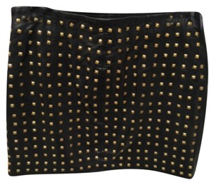 Nicole Miller Mini Skirt Blac