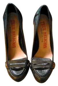 True Religion Black Pumps