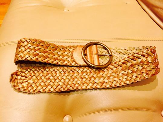 Cole Haan Leather Braided Belt