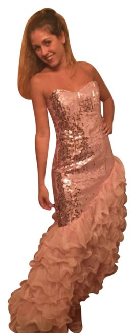 Preload https://item5.tradesy.com/images/pink-high-low-formal-dress-size-6-s-6024409-0-0.jpg?width=400&height=650