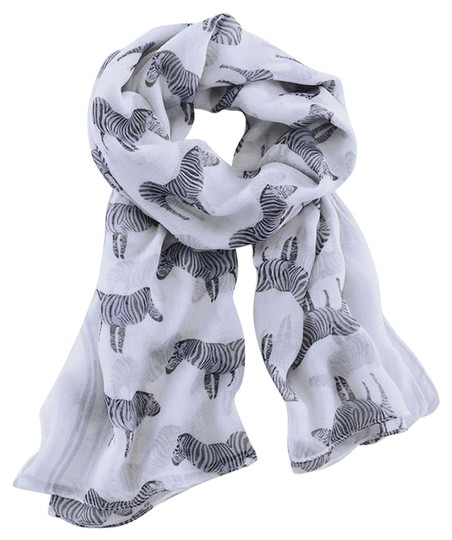 Independent Clothing Co. NWT * ZEBRA PRINT ANIMAL SCARF * 42