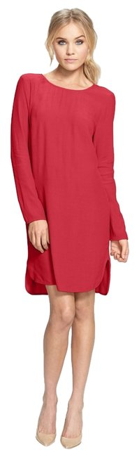 WAYF short dress Red Polyester Party Girls Night Out Holiday Long Sleeve Nordstrom Juniors on Tradesy