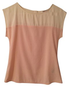 Banana Republic Top Pink/Cream