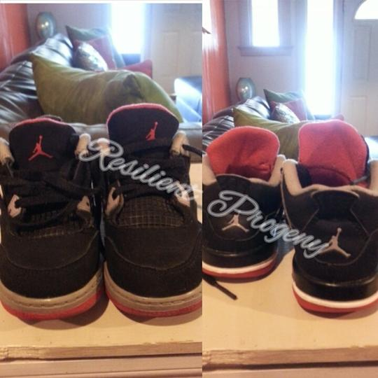Air Jordan (AUTHENTIC) Black/Cement/Fire Red Athletic