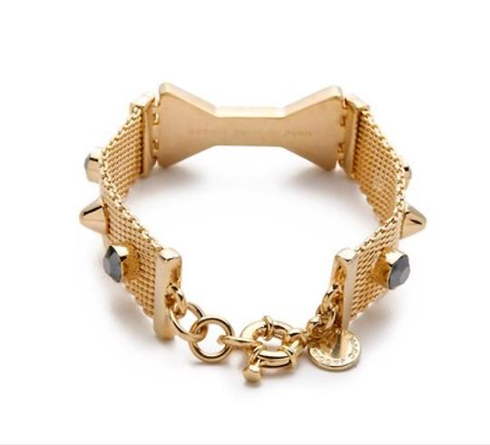 Marc by Marc Jacobs NEW Marc Jacobs Polka Dot Bow Gold Mesh Bracelet