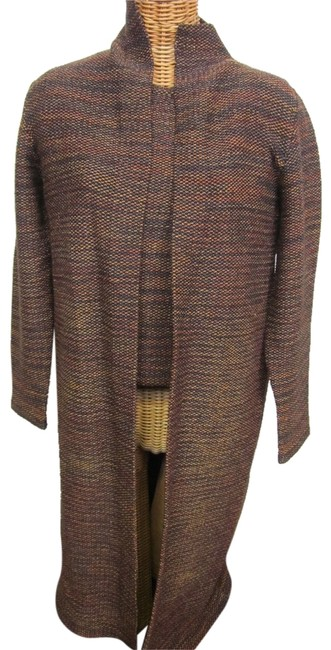 Preload https://item1.tradesy.com/images/brown-matching-knit-and-sweater-cardigan-size-6-s-6025270-0-0.jpg?width=400&height=650