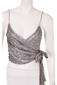 Badgley Mischka Top Gunmetal