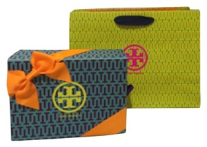 Tory Burch Tote in Blue/Green/Orange