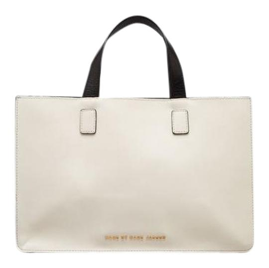 Marc by Marc Jacobs Color-blocking Tote in Black And White